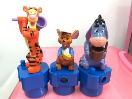 Vintage Pooh & Friends Slideshow Toys Set