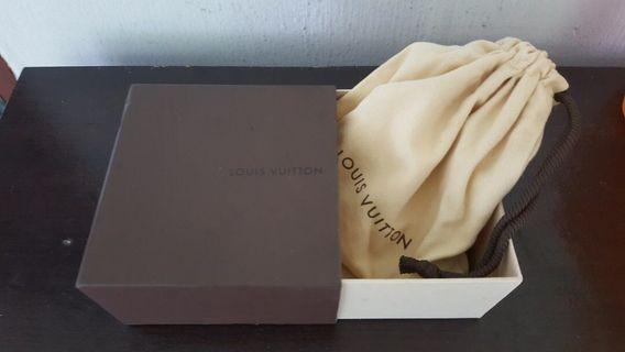 Used LV Belt Box with dust bag for sale