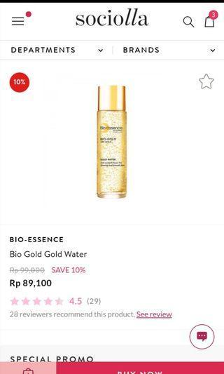 Bio Essence 24k Gold (30 ml)