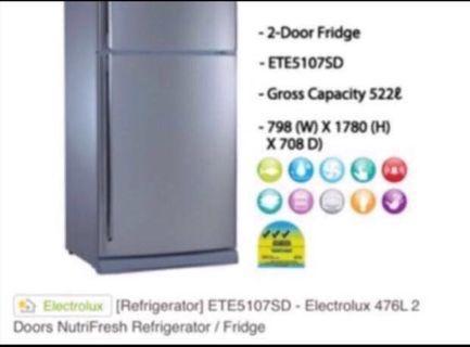 BN Electrolux 476L  fridge