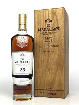 The Macallan 25 Years Old Single Malt Scotch Whisky