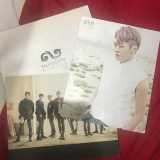 KPOP BOY GROUP INFINITE 인피니트 PHOTOBOOK BE BACK