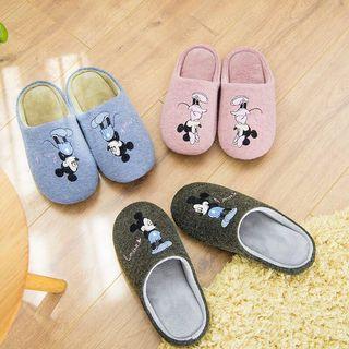 🚚 米奇 米妮室內拖鞋