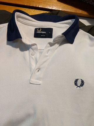 Fred perry shirt slim fit small