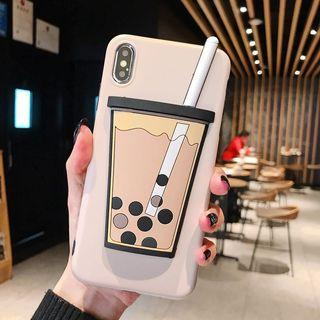 🚚 PO: iphone/huawei/samsung bubble tea cover