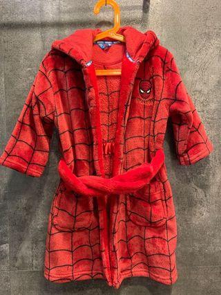 小童 Spiderman 睡袍