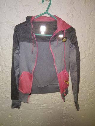 Running Jacket With Built in Earphones