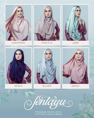 (Last pc In-stocks) Grandahlia Jentayu Shawl