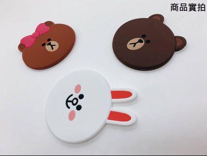🚚 😍韓國LINE造型小鏡子