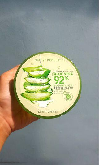 Nature Republic Aloe Vera Soothing Gel HAND CARRY NEW