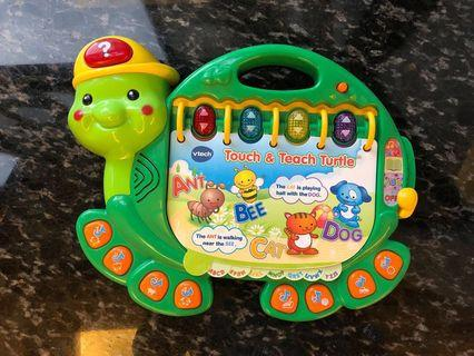 vtech 玩具  - Touch and Teach Turtle