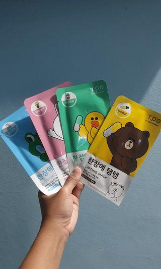 Hand Carry LINE Sheet Mask