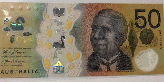 New Australia $50 Dollar Unc note