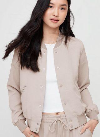 Aritzia Wilfred Poussin Bomber Jacket XS