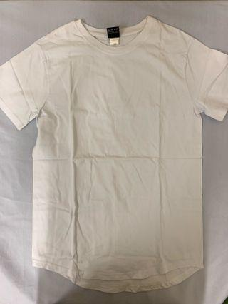Tee t-shirt 男 size L 白色