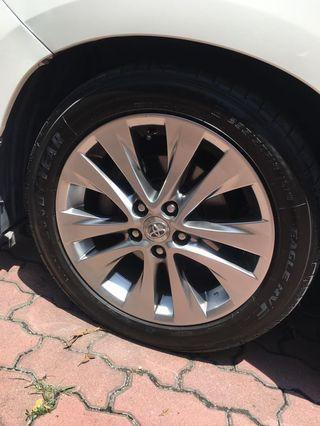 Alphard Vellfire Sport Rim Tayar Tyre Japan
