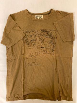 Tee t-shirt 男 size L