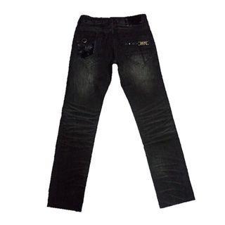 BN Miss Sixty Distress Straight Cut Denim Premium Collection Jeans