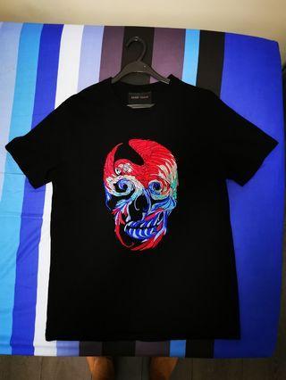 Hardy Hardy parrot skull design