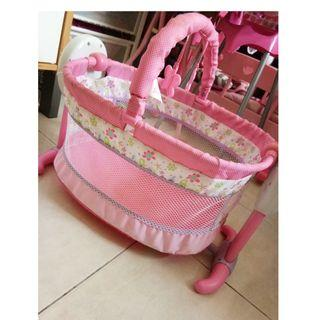 Baby alive doll rocking bed