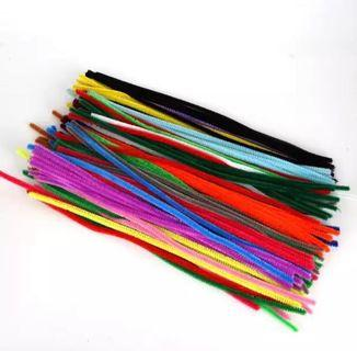 Chenille sticks / pipe cleaner - mixed