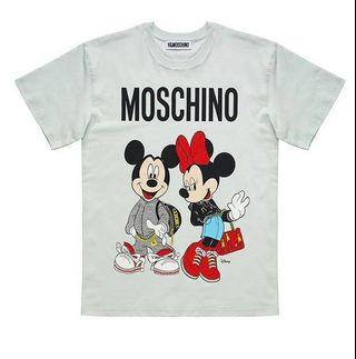 H&M X Moschino Mickey Mouse Tee