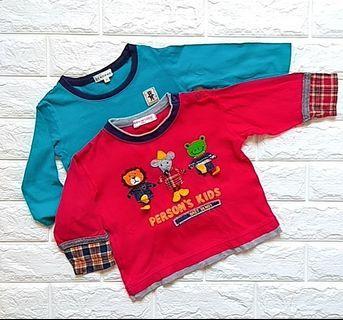 T Shirt long sleeves (6-12m}