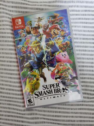 🚚 Super Smash Bros Ultimate Brand New Sealed Packaging Nintendo Switch
