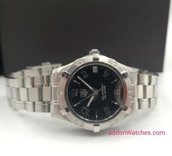 Tag Heuer Aquaracer Ladies Black Quartz Watch