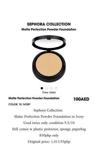 Sephora Matte Powder Foundation