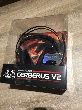 【全新未拆封】華碩 二代賽伯洛斯 Asus cerberus v2 電競耳機
