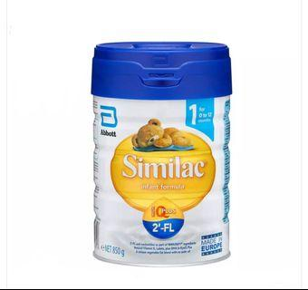 Abbott Similac Infant Formula IQ Plus 2'-FL (Stage 1 (0 to 12 months) (Expiry Date: 16 March 2020)