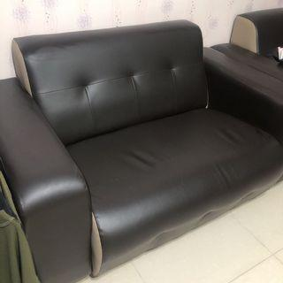 Leather seater sofa - Couple Seat