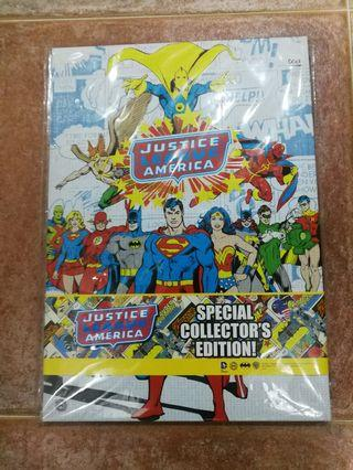🚚 Justice League America & Batman 75th Anniversary MyStamp Bundle Set  - Special Collector's Edition - Stamp Serial #001