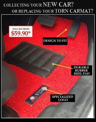 Premium Car Mat - Text 9101 1115 For More Info