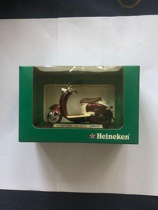 喜力絕版綿羊仔電單車模型