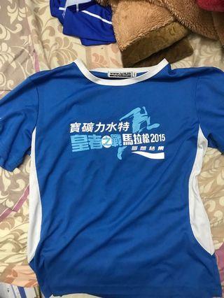 2015皇者之戰 馬拉松 tee Size L