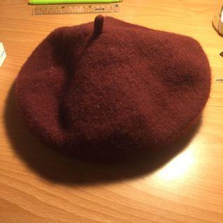 🚚 貝雷帽[酒紅色]