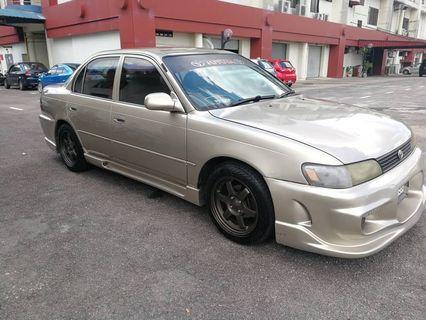 Toyota corola 1.6 manual seg ae 101