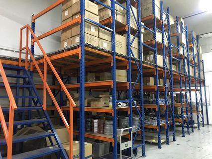Double storey heavy duty Rack system