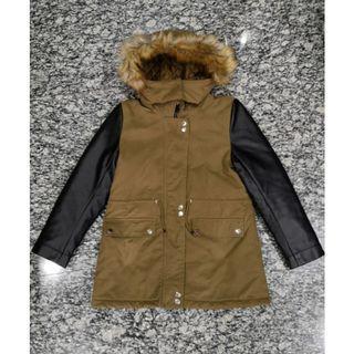 Zara Girls Ladies Winter Hoodie Parka Jacket