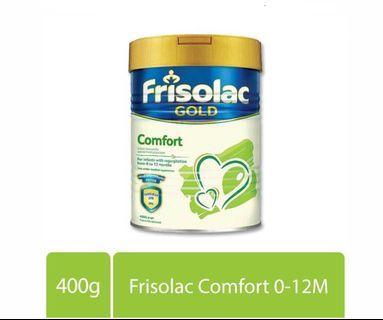 Friso Frisolac Gold Comfort Infant Formula Stage 1 400g (0-12M) (Expiry Date: 13 April 2020)