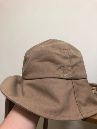 卡其漁夫帽