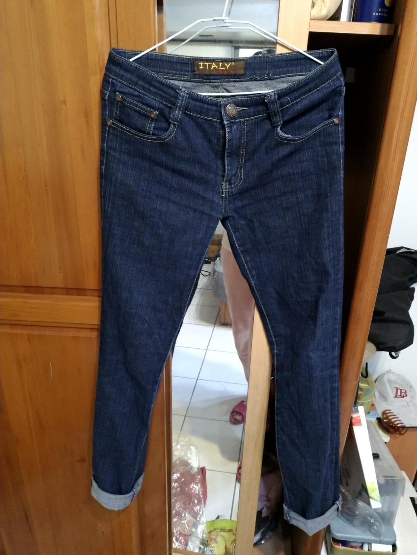 深色牛仔褲 長褲