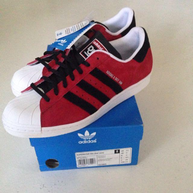 Adidas Superstar 80s (Def Jam) Shoes, Sports, Sports Apparel