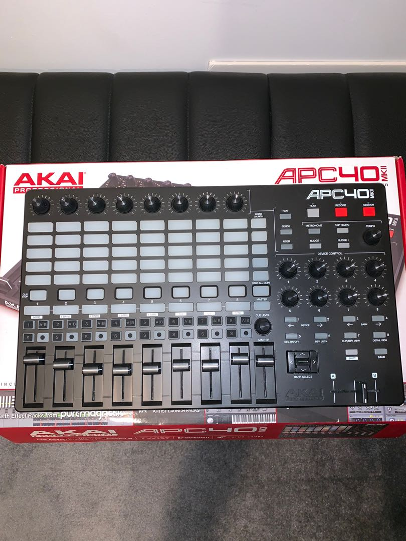 Akai APC40 Mk2  Ableton controller  Condition 10/10