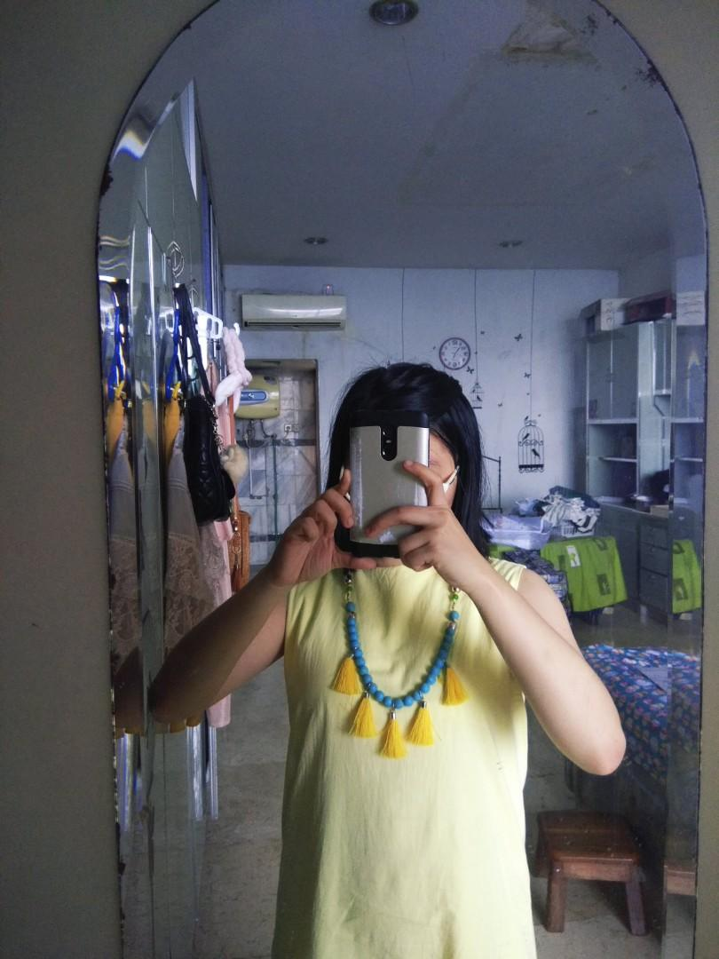 Amoracle Beads Boho Necklace (Handmade)