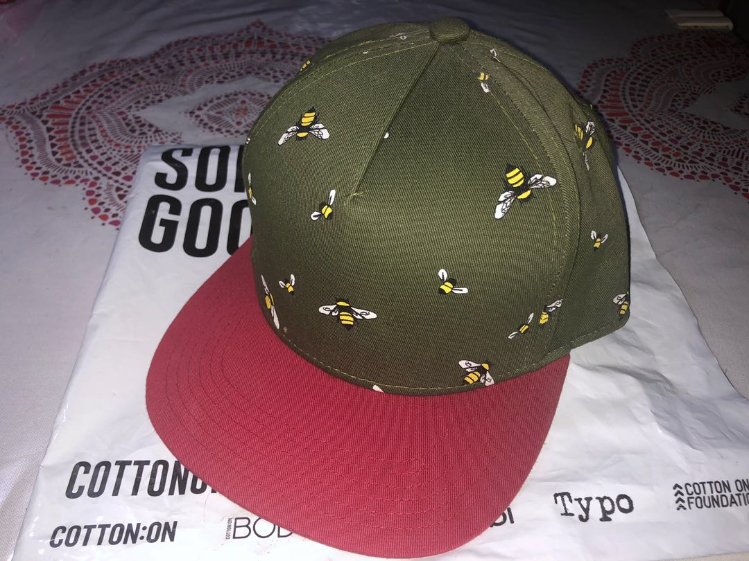 0b8e34e8 Army Green/Red & Bumblebee Cap ❤ ❤ ❤ , Men's Fashion ...