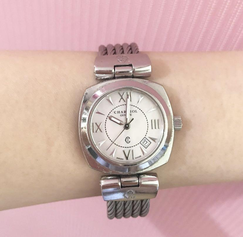authentic charriol geneve woman watch