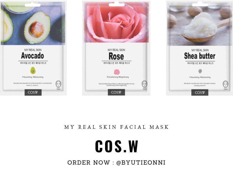 Beauty Facial Mask Sheet (Masker Wajah)